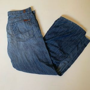 7 For All Mankind relaxed fit jeans waist 33